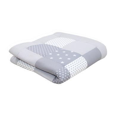 Ullenboom deka a vložka do ohrádky 120 x 120 cm šedé hvězdičky - pestrobarevná - Gr.120 x 120 cm