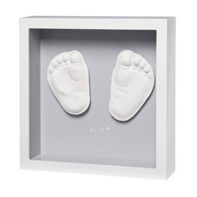 Image of Baby Art 3D-Abdruck My little Steps - Sculpture frame, grey