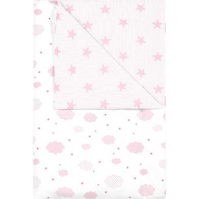odenwälder Schmusedecke cloudy candy pink 70x100cm