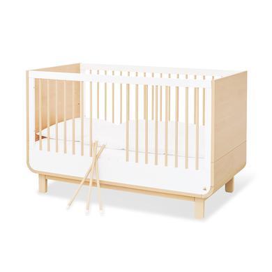 Kinderbetten - Pinolino Kinderbett Round weiß  - Onlineshop Babymarkt