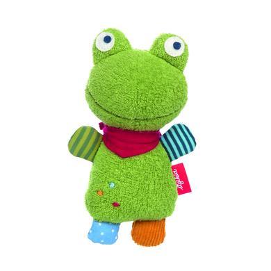 sigikid ® Rassel Flecken Frog - grün