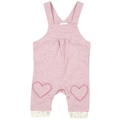 Babyhosen - DIMO–TEX Babylatzhose Herzen rosa - Onlineshop Babymarkt