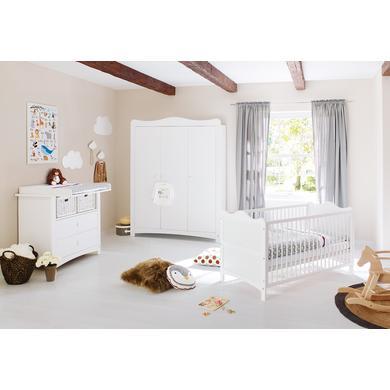 Babyzimmer - Pinolino Kinderzimmer Florentina breit groß weiß  - Onlineshop Babymarkt
