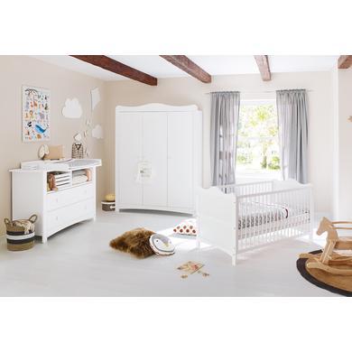 Babyzimmer - Pinolino Kinderzimmer Florentina extrabreit groß weiß  - Onlineshop Babymarkt