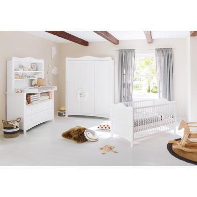 Babyzimmer - Pinolino Kinderzimmer Florentina extrabreit groß inkl. extrabreitem Regalaufsatz  - Onlineshop Babymarkt