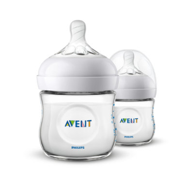 Avent Philips  SCF03027 lahvička 2.0 125m 2 ks - transparentní - Gr.do 125 ml