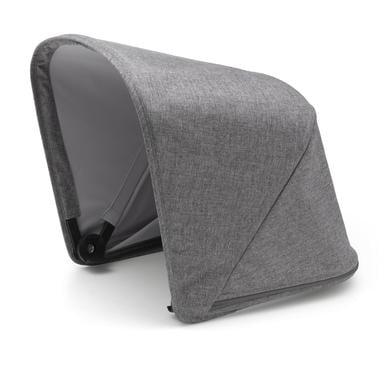 Bugaboo Pidennettävä kuomu Fox, Grey Melange - Premium Collection - harmaa