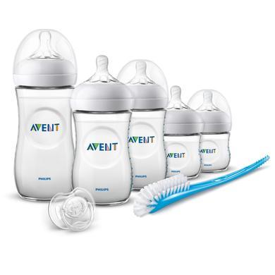 Philips Avent SCD301/05 Naturnah 2.0 sada pro novorozence včetně lahvičky 330ml - transparentní - Gr.260 ml - 350 ml