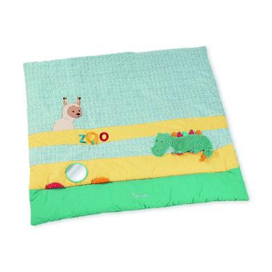 Kindertextilien - Sterntaler Krabbeldecke Kuschelzoo 100 x 100 cm  - Onlineshop Babymarkt