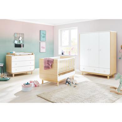 Babyzimmer - Pinolino Kinderzimmer Round breit groß weiß  - Onlineshop Babymarkt