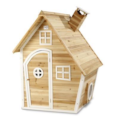 Spielhäuser und Sandkästen - EXIT Holzspielhaus Fantasia 100, natur  - Onlineshop Babymarkt