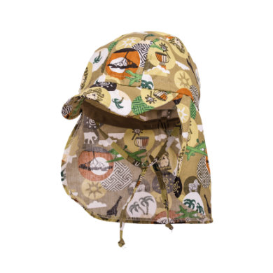 Miniboyaccessoires - maximo Boys Schildmütze Afrika aloe–weiss – beige – Gr.Kindermode (2 – 6 Jahre) – Jungen - Onlineshop Babymarkt