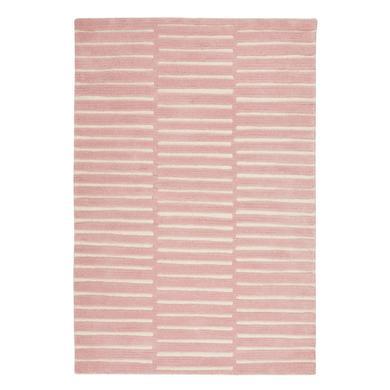 LIVONE Barnmatta Happy Rugs Photo rosa/natur, 120 x 180 cm