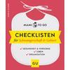 GU, Mami to go - Checklisten für Schwangerschaft & Geburt