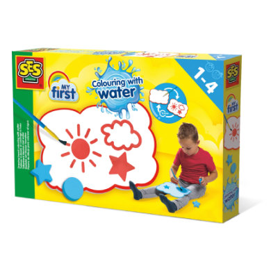 SES Creative® My first - Maltafel mit Wasser bemalen