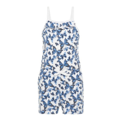 Minigirlhosen - name it Girls Jumpsuit Vigga bright white butterfly - Onlineshop Babymarkt