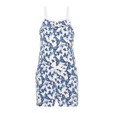 Minigirlhosen - name it Girls Jumpsuit Vigga bright white butterfly – bunt – Gr.110 – Mädchen - Onlineshop Babymarkt