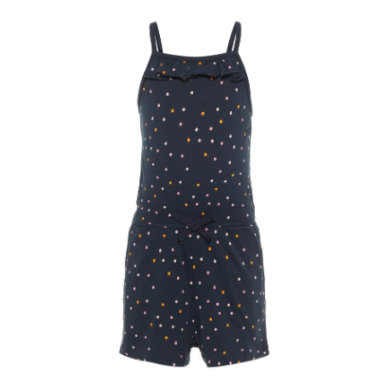 name it Girls Jumpsuit Vigga dark sapphire dots blau Gr.80 Mädchen