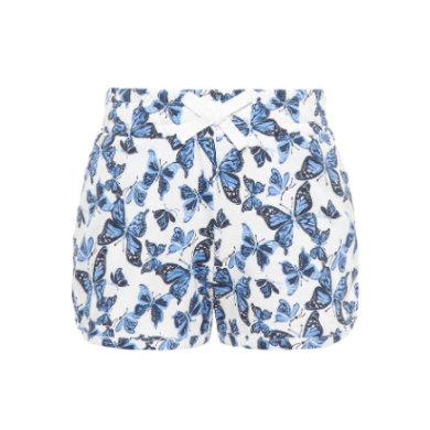 name it Shorts Vigga bright white butterfly bunt Gr.Babymode (6 24 Monate) Mädchen
