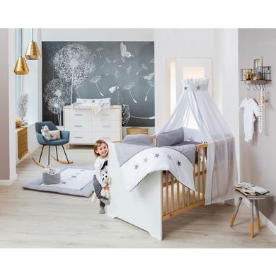 Babyzimmer - Schardt Sparset Coco White weiß Gr.70x140 cm  - Onlineshop Babymarkt