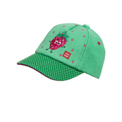 Minigirlaccessoires - maximo Girls Cap Strawberry kräftiges grün - Onlineshop Babymarkt