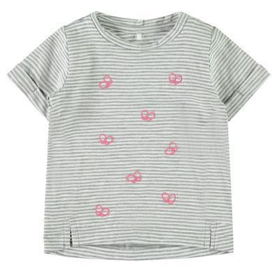 name it  Girls T-Shirt Fantasia Grey melange - grau - Gr.80 - Mädchen