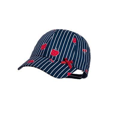 maximo Girls Cap Fruits Streifen navy red blau Gr.Kindermode (2 6 Jahre) Mädchen