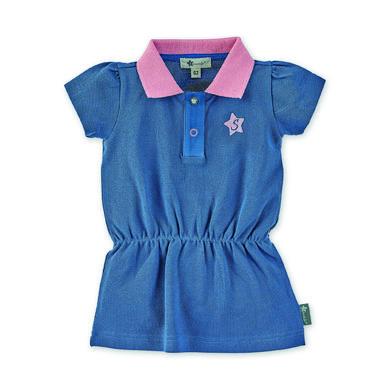 Minigirlroeckekleider - Sterntaler Polo–Kleid mittelblau - Onlineshop Babymarkt