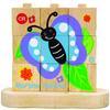 EverEarth® Stapelpuzzle Von der Raupe zum Schmetterling