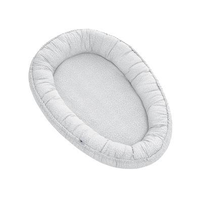 Kindertextilien - JULIUS ZÖLLNER Nido Nestchen Tiny Squares Grey 86 x 58 x 10 cm  - Onlineshop Babymarkt