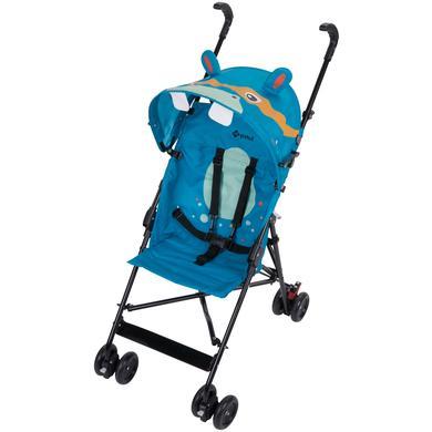 Safety 1st  Paraplyklapvogn Crazy Peps Hippo - blå