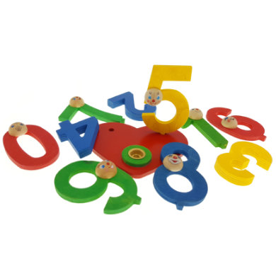 HESS Set Heart Birthday Numbers 0 -