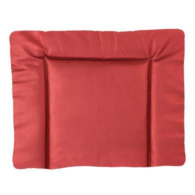 IDEENREICH Přebalovací rohož 85 x 75 cm, imitace kůže, krb červená