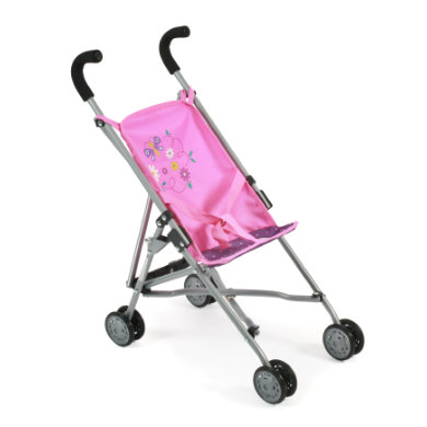 BAYER CHIC 2000 Mini-Buggy ROMA dots purple-pink