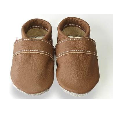 Babyschuhe - TROSTEL Krabbelschuh Classic mocca - Onlineshop Babymarkt