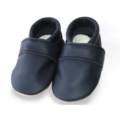 Babyschuhe - TROSTEL Krabbelschuh Classic dunkelblau - Onlineshop Babymarkt