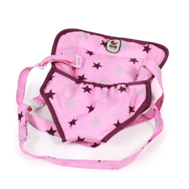 BAYER CHIC Klokanka pro panenky Stars Brombeere - růžová/pink