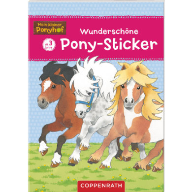 COPPENRATH Beautiful Pony Stickers - Můj malý Ponyhof