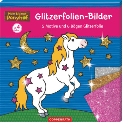 Fotografie: COPPENRATH Glitter foil - My little Ponyhof