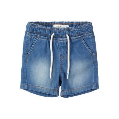 name it Shorts Nbmryan light blue denim blau Gr.Newborn (0 6 Monate) Jungen
