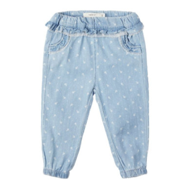 name it Jeans Nbfrie light blue denim blau Gr.Newborn (0 6 Monate) Jungen