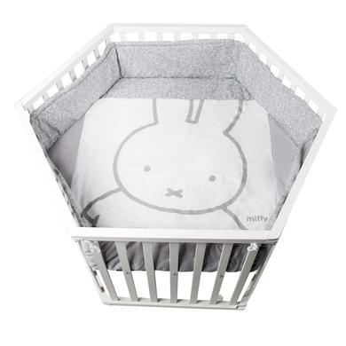 Laufgitter - roba Laufgitter 6 eckig Miffy weiß  - Onlineshop Babymarkt