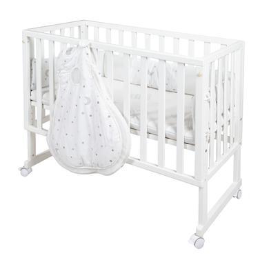 Stubenwagen und Wiegen - roba Stubenbett safe asleep® 3 in 1 Sternenzauber weiß  - Onlineshop Babymarkt