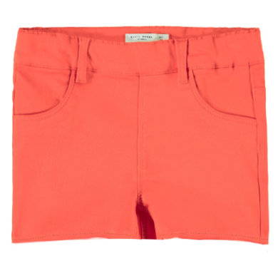 name it Girls Shorts Salli emberglow rot Gr.Babymode (6 24 Monate) Mädchen