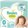 Pampers Premium Protection Größe 0, 24 Windeln, <3kg
