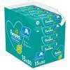 Pampers Fresh Clean Feuchttücher 15 Packungen = 1200 Feuchttücher