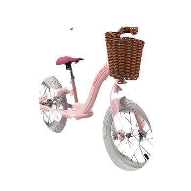 Laufrad - Janod ® Vintage Bikloon Laufrad Rosa mit Korb rosa pink - Onlineshop