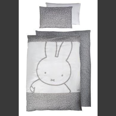 Kindertextilien - roba Bettwäsche 2 teilig Miffy® 100 cm x 135cm bunt Gr.100x135 cm  - Onlineshop Babymarkt
