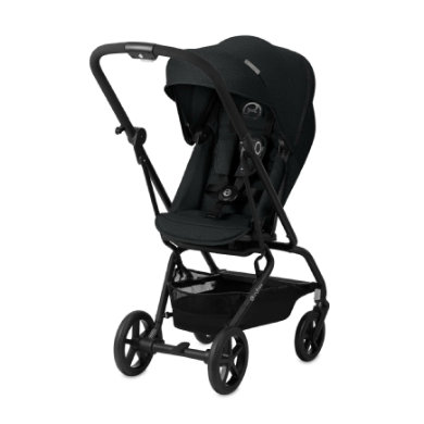 cybex GOLD Eezy S Twist Denim - Lavastone Black 2019