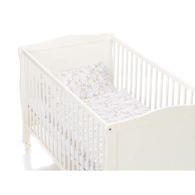Kindertextilien - fillikid Bettwäsche Vögel 100 x 135 cm  - Onlineshop Babymarkt